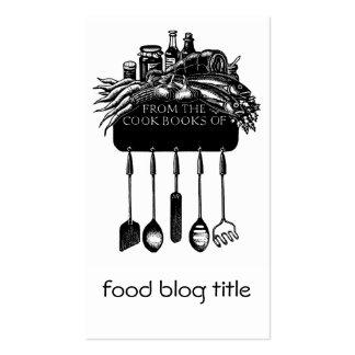 Food Blog Business Card