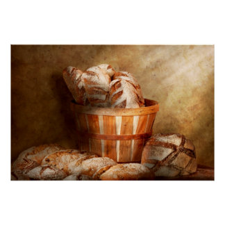 Food - Bread - Your daily bread Posters