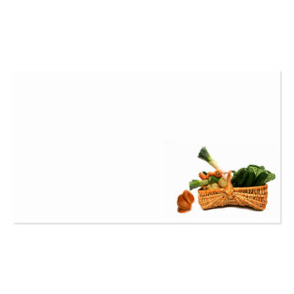 food Double-Sided standard business cards (Pack of 100)
