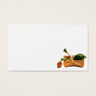 food business card