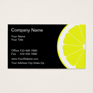 Food Business Cards