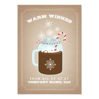 Food Business Christmas Card