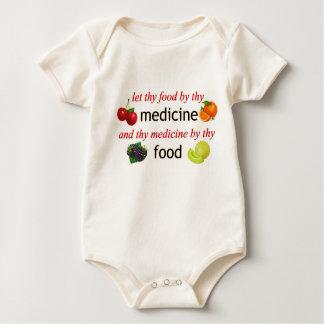 Food by thy Medicine Baby Bodysuit