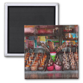 Food - Candy - Chocolate covered everything 2 Inch Square Magnet