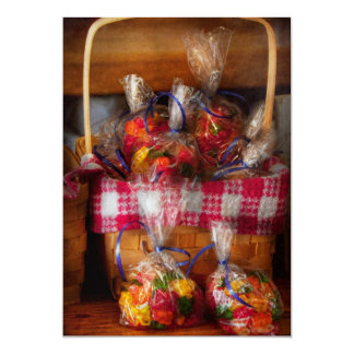 Food - Candy - Gummy bears for sale Card