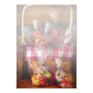 "Food - Candy - Gummy bears for sale 5"" X 7"" Invitation Card"
