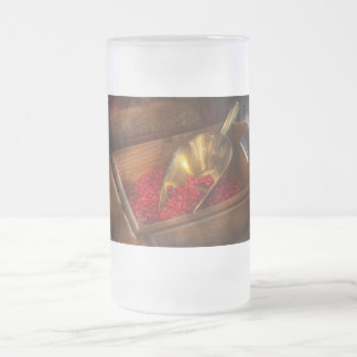 Food - Candy - Hot cinnamon candies Frosted Glass Beer Mug