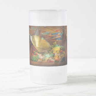 Food - Candy - One scoop of candy please Frosted Glass Beer Mug