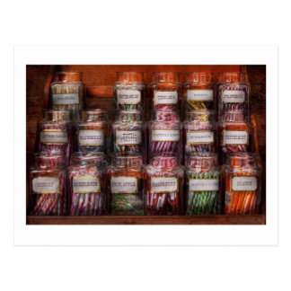 Food - Candy - Penny Candy Postcard
