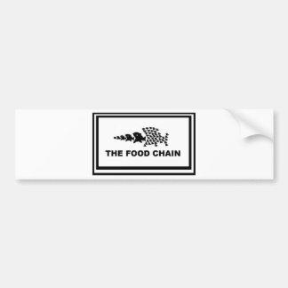 Food Chain Bumper Sticker