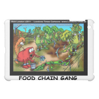 Food Chain Gang Funny Gifts Cards Etc iPad Mini Cover