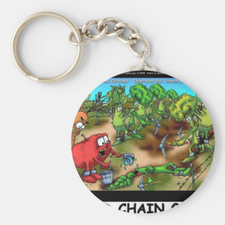 Food Chain Gang Funny Gifts Tees & Collectibles Keychain