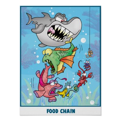 food chain images. Food Chain Poster by