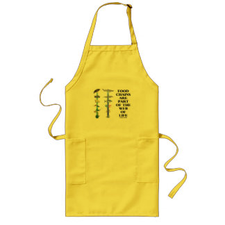 Food Chains Are Part Of The Web Of Life (Ecology) Long Apron