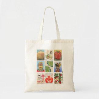 Food Challenge Montage Tote Bag