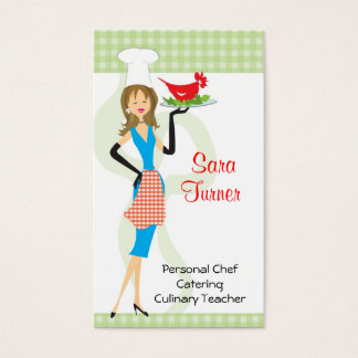 Food Chef Cooking Business Card