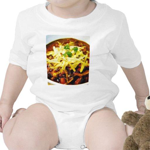 Food Chili Cheese Bowls Baby Bodysuit