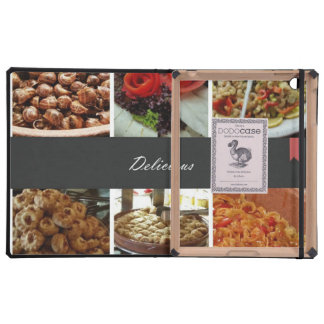 Food Collage iPad Covers