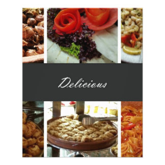 Food Collage Flyer