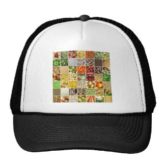Food Collage Hat