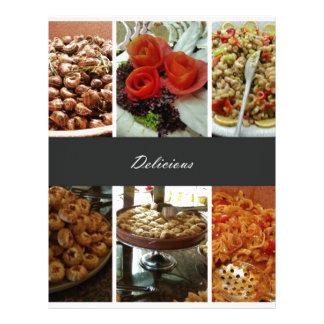 Food Collage Letterhead