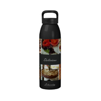 Food Collage Water Bottle
