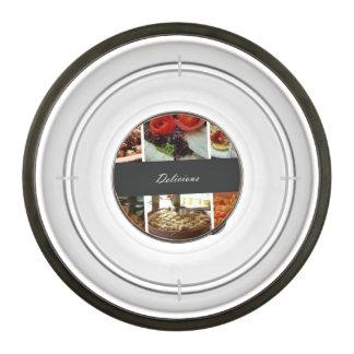 Food Collage Pet Bowl