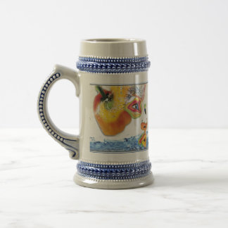 Food Consciousness 18 Oz Beer Stein