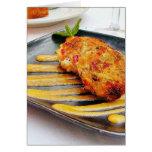 Food Crabcakes Dinner Greeting Card
