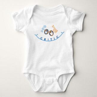 Food Critic Baby Bodysuit