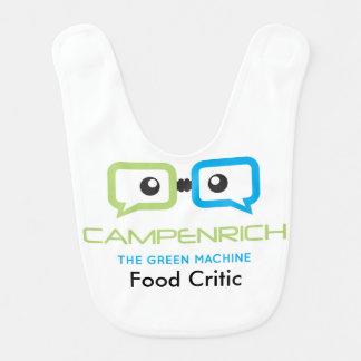 Food Critic Bib - CampEnrich