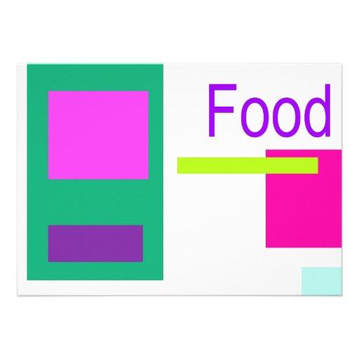Food Custom Announcement