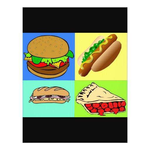Food Custom Flyer