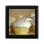 Food Desserts Sweets Cake Candy Sprinkles Colorful Trinket Boxes
