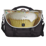 Food Desserts Sweets Cake Candy Sprinkles Colorful Laptop Commuter Bag