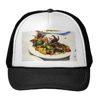 Food Dim Sum Squid Mesh Hat