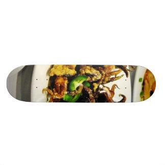 Food Dim Sum Squid Custom Skate Board