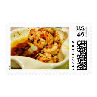 Food Dinner Scampi Stamps