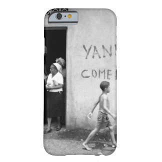 """Food distribution in front of """"Yankees  _War Image Barely There iPhone 6 Case"""