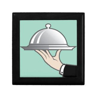 Food dome in hand keepsake box