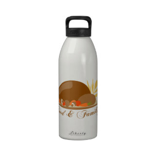 Food & Family Reusable Water Bottles