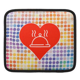 Food Fan iPad Sleeve