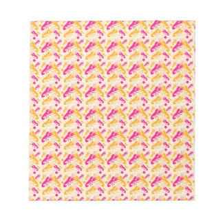 FOOD fight lobster fighting pattern Notepad