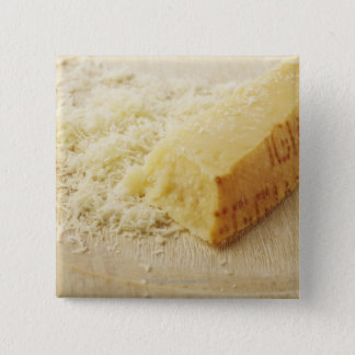 Food, Food And Drink, Cheese, Parmesan, Grated, Pinback Button