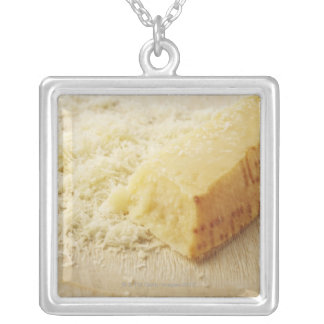 Food, Food And Drink, Cheese, Parmesan, Grated, Silver Plated Necklace