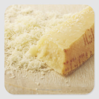 Food, Food And Drink, Cheese, Parmesan, Grated, Square Stickers
