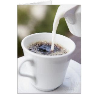 Food, Food And Drink, Coffee, Cream, Creamer, Card