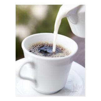 Food, Food And Drink, Coffee, Cream, Creamer, Postcard