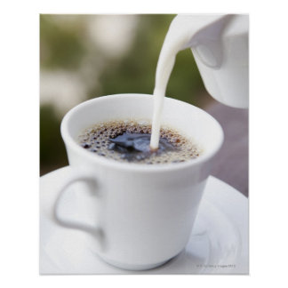 Food, Food And Drink, Coffee, Cream, Creamer, Poster