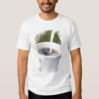 Food, Food And Drink, Coffee, Cream, Creamer, T-Shirt